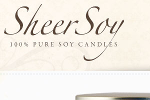 Sheer Soy Candles
