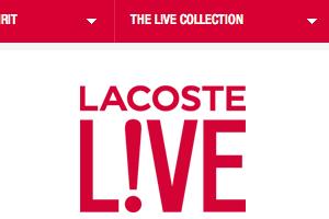 Web LiveFunky Inspiration Design Web Design Inspiration LiveFunky Lacoste Lacoste lTcKFJ1