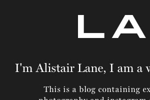 Alistair Lane
